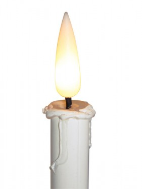 Flicker Flame Candle Battery Powered
