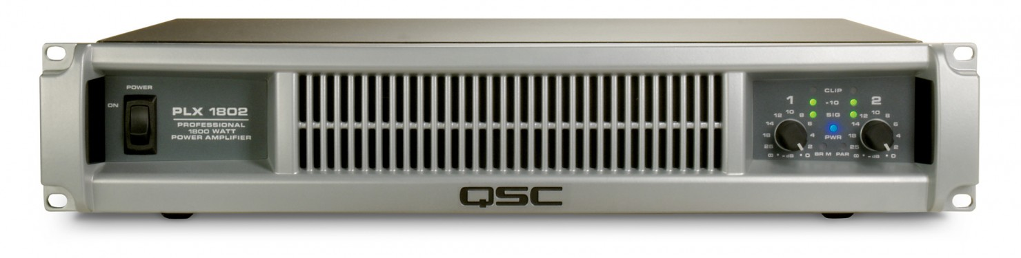 QSC PLX 1802 Power Amplifier