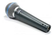 Shure Beta 58a Supercardioid Microphone