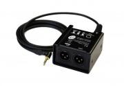 Interspace Industries PC Bal Box - Stereo Mini Jack DI Box