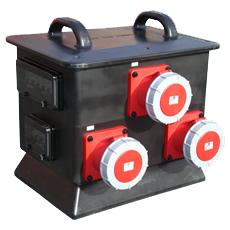 Power Lock 400A 3Ph – 3 x 125A 3Ph MCB
