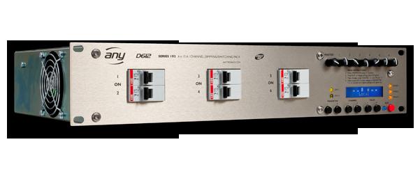 Anytronics Series 192 D612 12 Channel Dimmer Rack