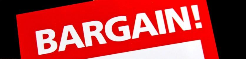 Bargain Bin Header Image