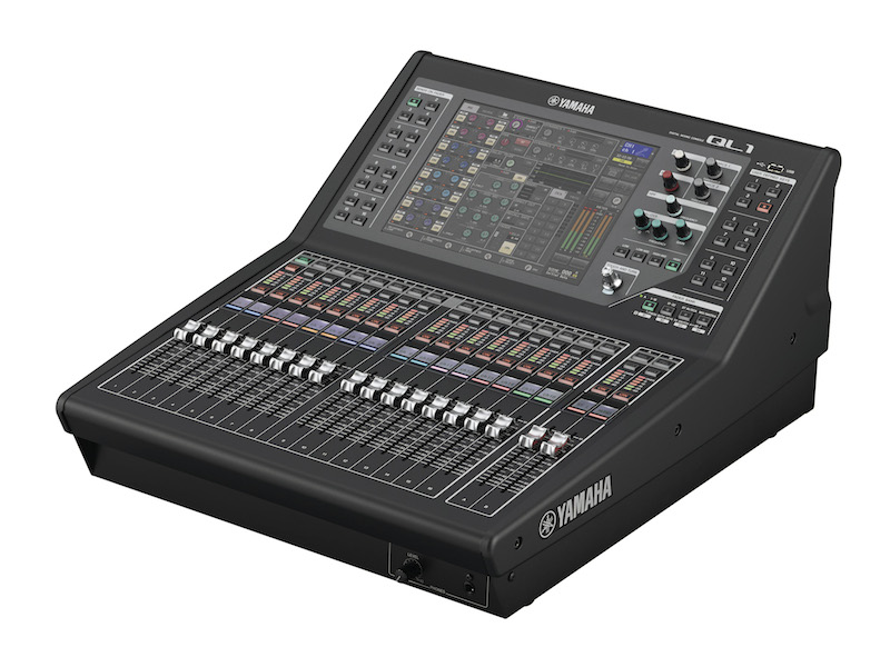 Yamaha ql1 digital mixer cps for Yamaha live console