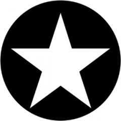 GOBO SINGLE STAR E8001