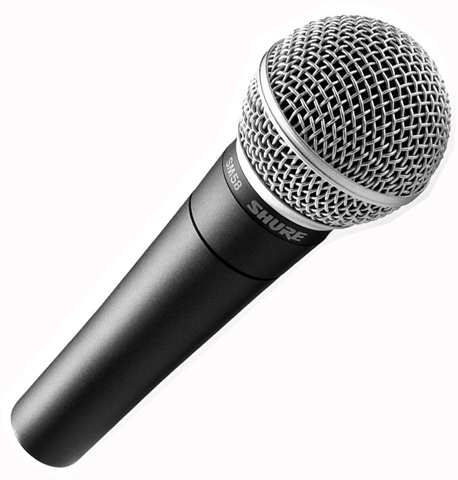 Shure Sm58 Cardioid Vocal Microphone Cps