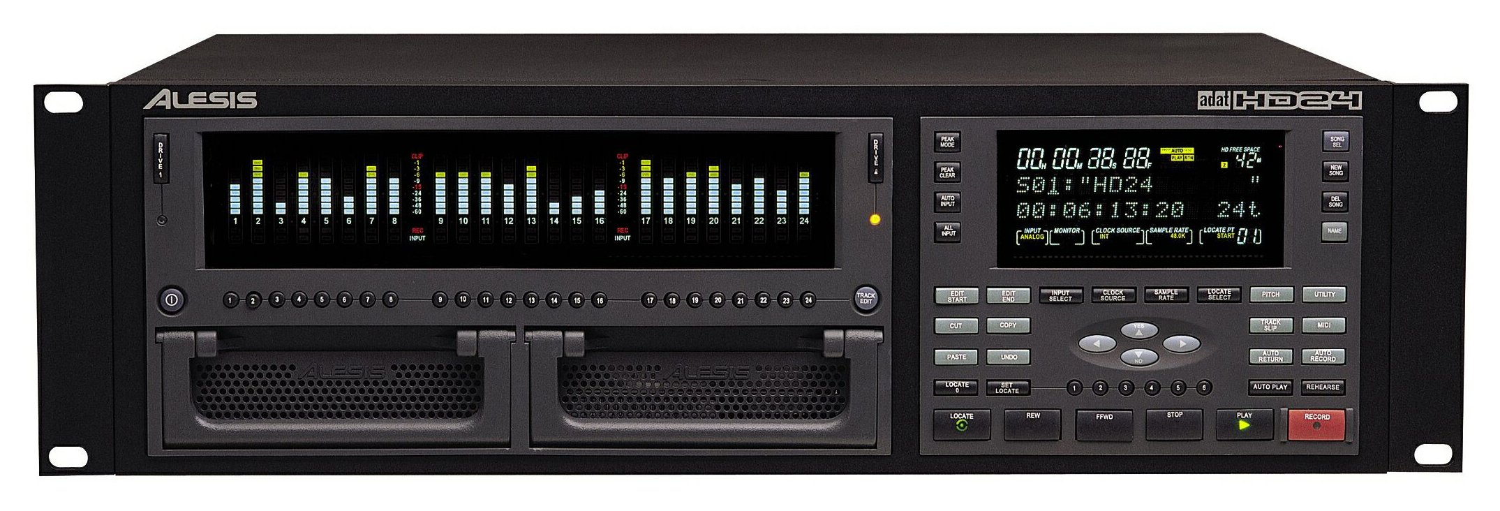 Alesis Adat Hd 24 Track Hard Disk Recorder Cps