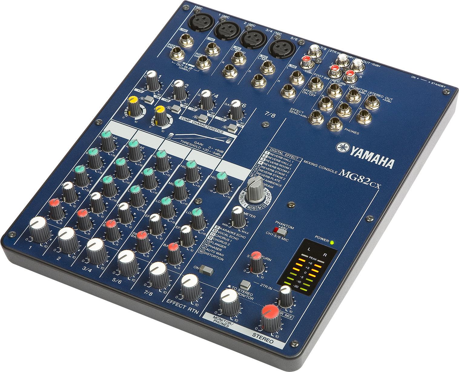 Yamaha Mg Mixing Console