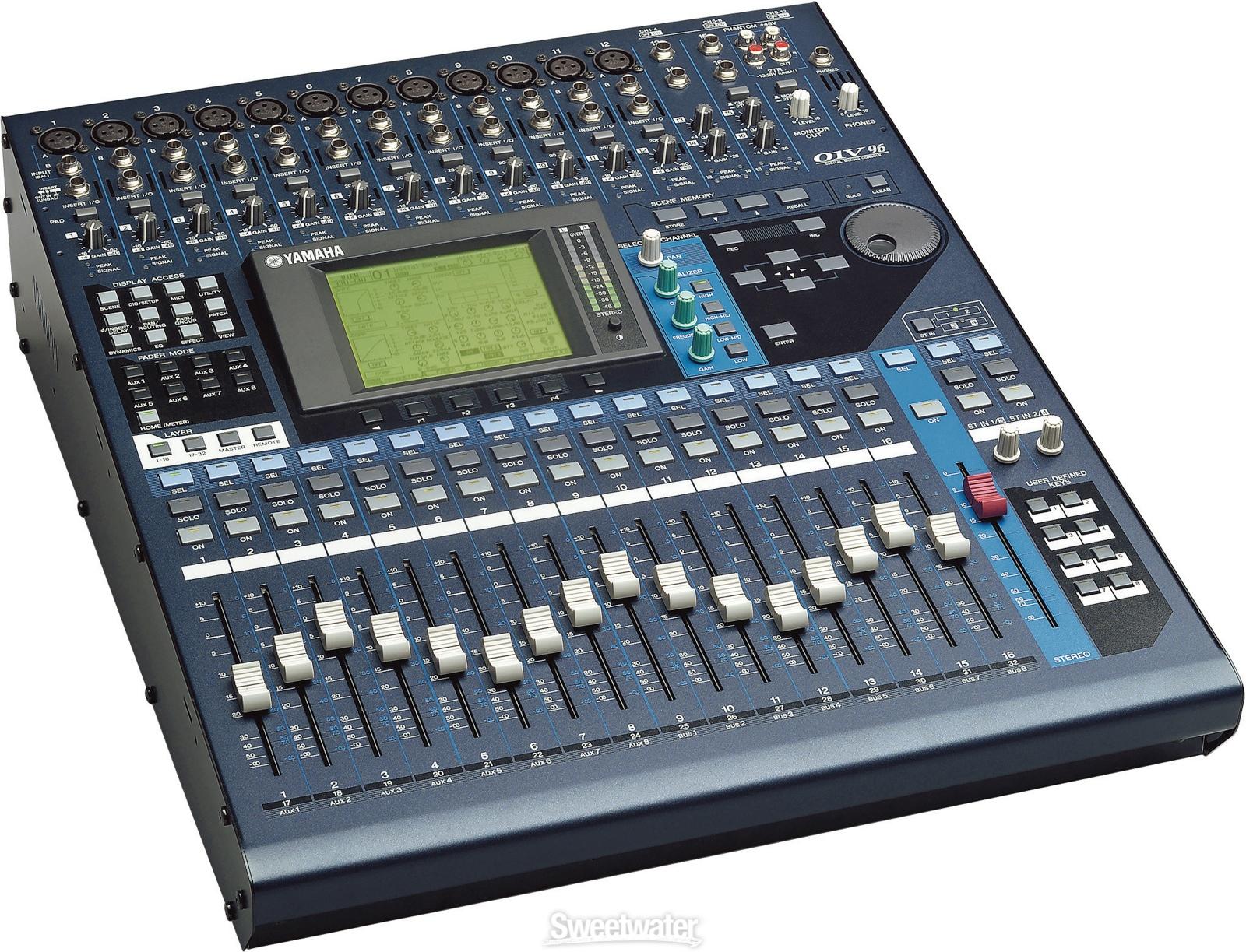 yamaha o1v96vcm v2 digital mixing console cps. Black Bedroom Furniture Sets. Home Design Ideas