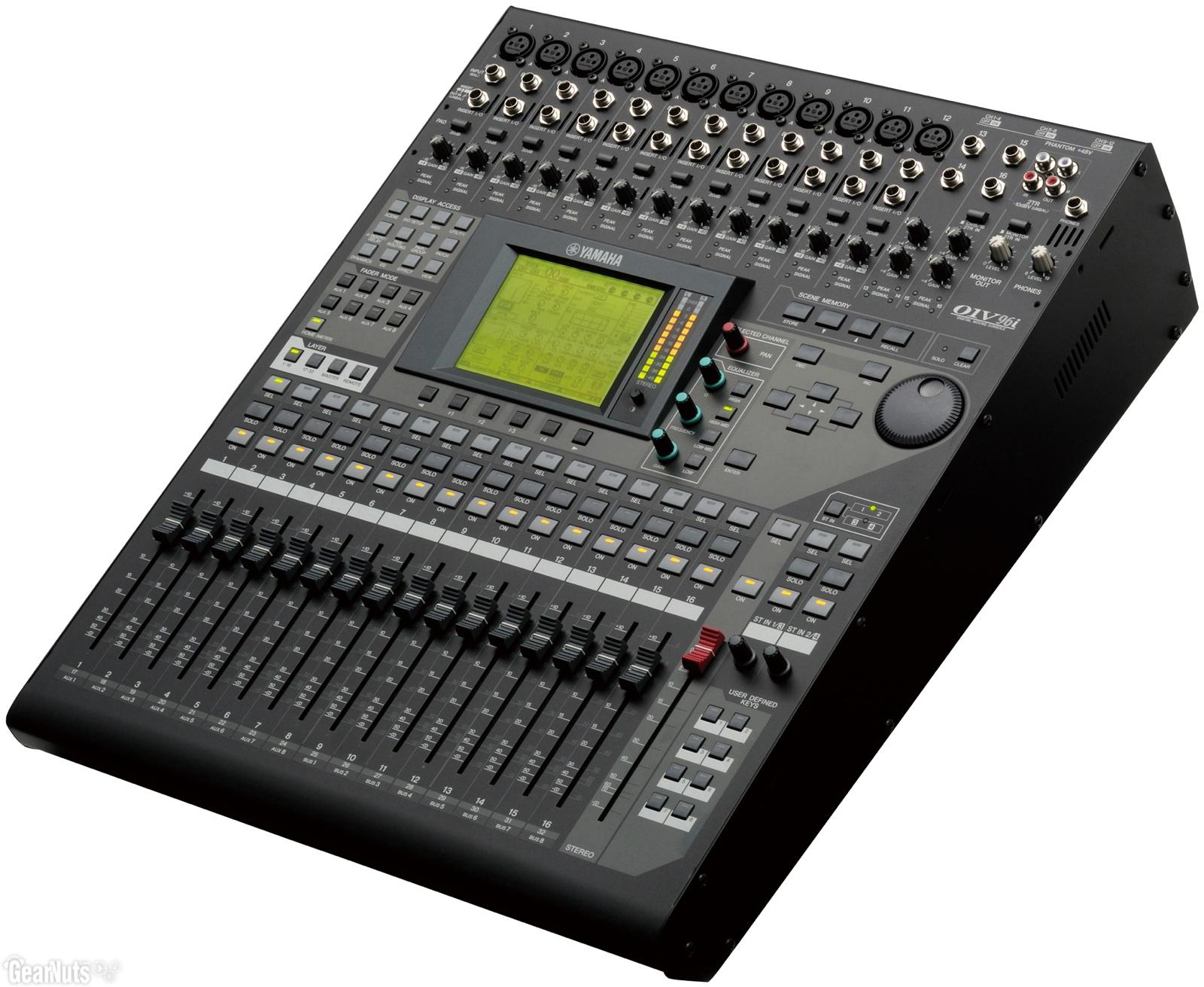 yamaha o1v96i digital mixing console cps