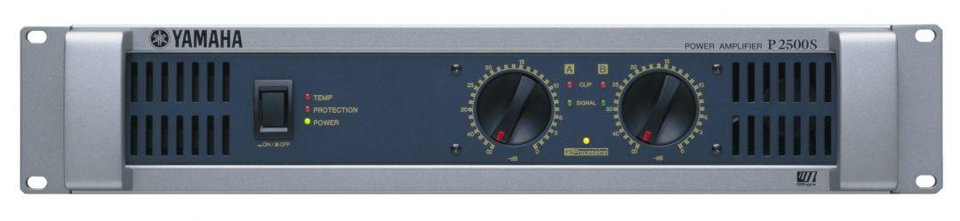 yamaha p2500s power amplifier cps. Black Bedroom Furniture Sets. Home Design Ideas