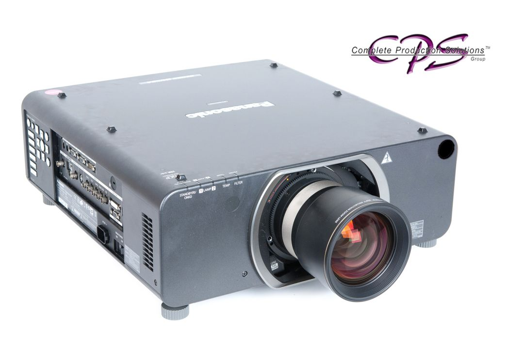 Panasonic pt dz110x 10 600 lumens full hd projector cps for Hd projector