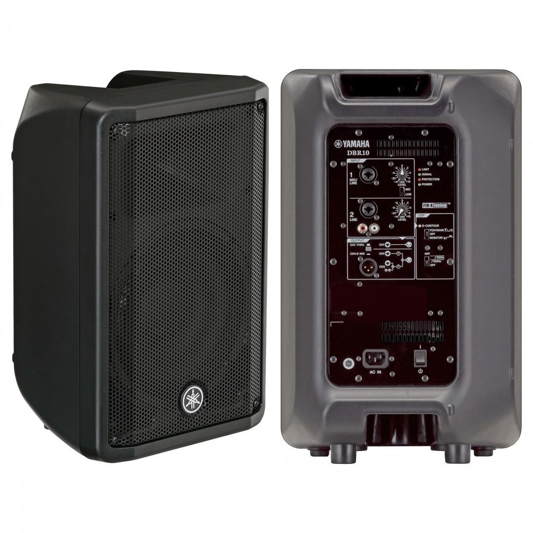 Yamaha DBR10 10″ 2-way Powered Loudspeaker