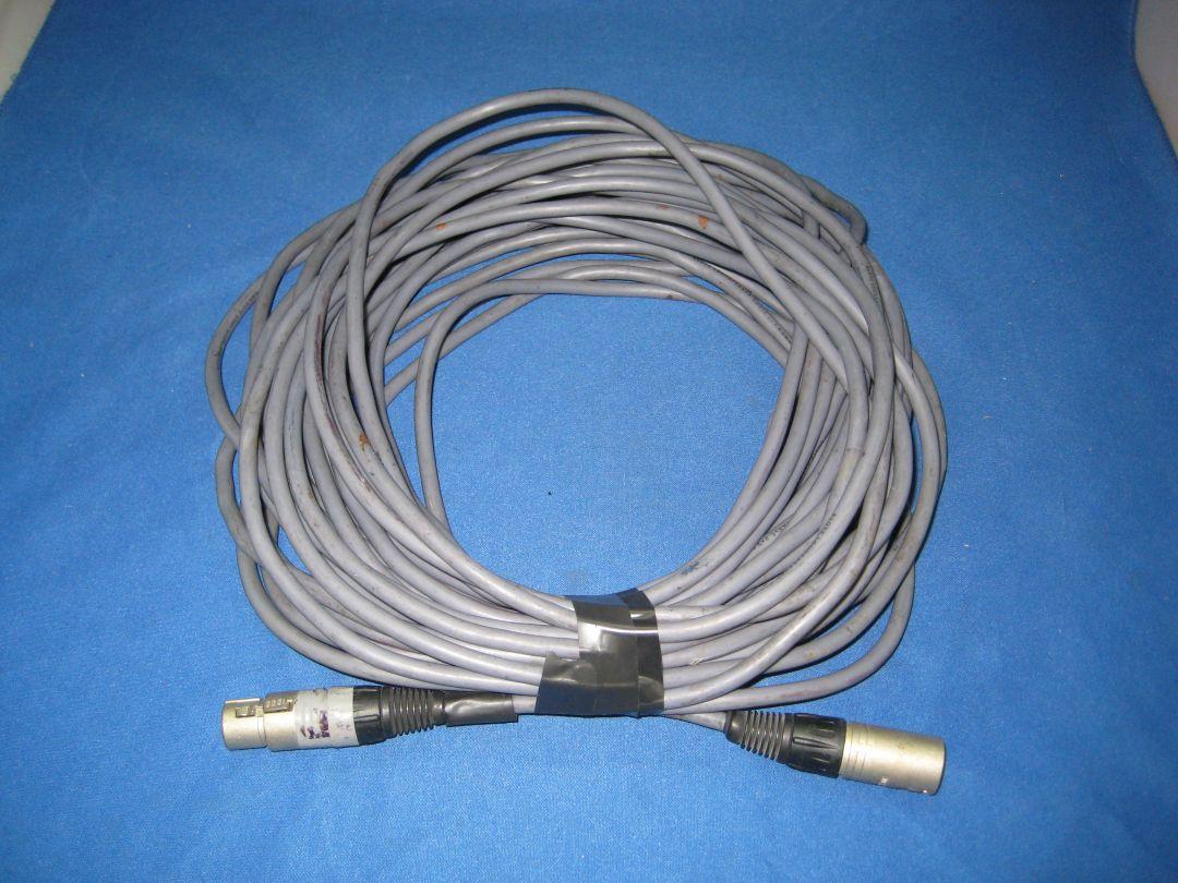 4 x Klotz 20m Speaker Cable 2 x 2.5mm - XLR Connectors - CPS